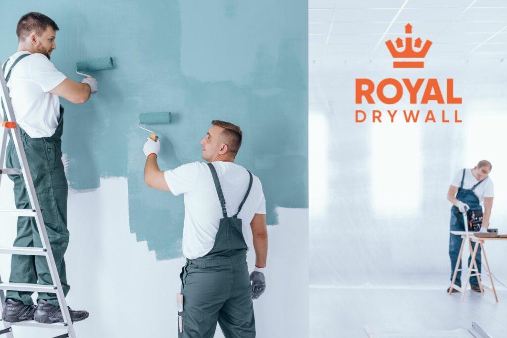royaldrywall toronto ontario drywall installation